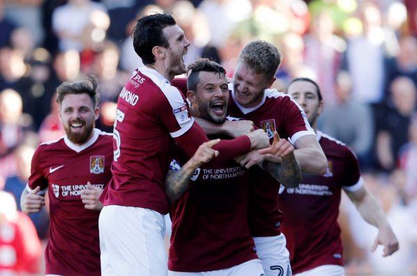 Hasselbaink credits Edinburgh after Northampton's first win of the season