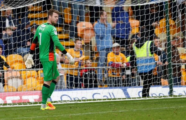 Notts County goalkeeper Adam Collin suffers ligament damage