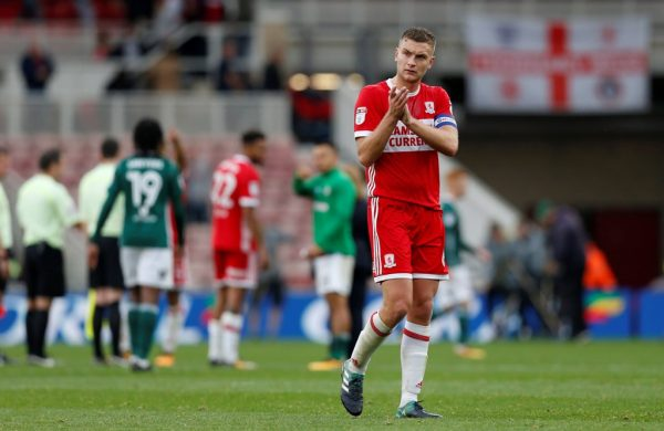 Middlesbrough defender Ben Gibson signs new contract with the club