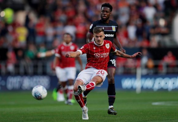 Bristol City's Paterson happy to pay Derby fans back for 'Forest reject' chant