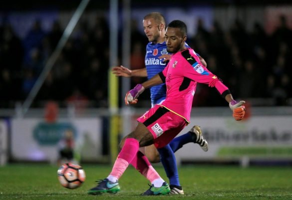 Swindon goalkeeper Lawrence Vigouroux given four-match ban