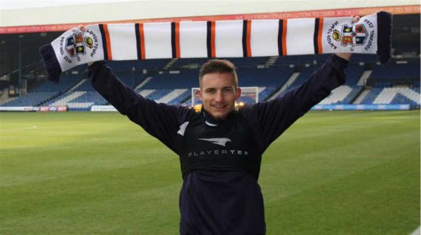 Luton's D'Ath delighted to be back after pre-season injury