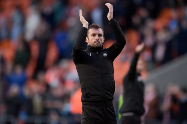 Luton's Jones ready for 'tough test' against Exeter tonight