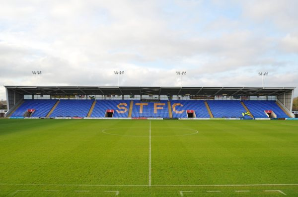 Shrewsbury to install safe standing at New Meadow by season's end