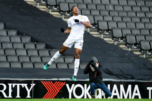 'I feel ready to kick on and so do the team' says Aneke of underperforming MK Dons