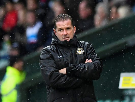 Graham Westley bids to be the Bee's knees