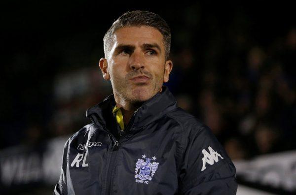 Big Interview: Bury manager Ryan Lowe