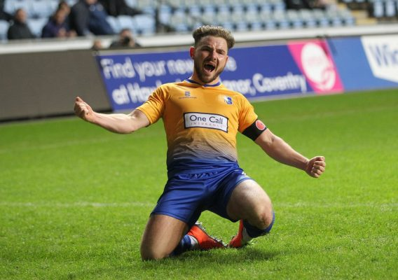 Alex MacDonald shapes up at Mansfield Town but wants more draws turned into wins