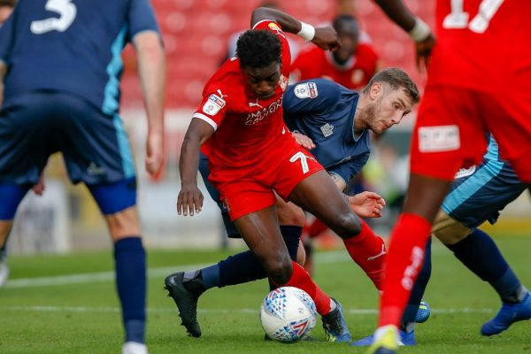 We've got to keep things clean at the back, says Swindon Town's McGlashan