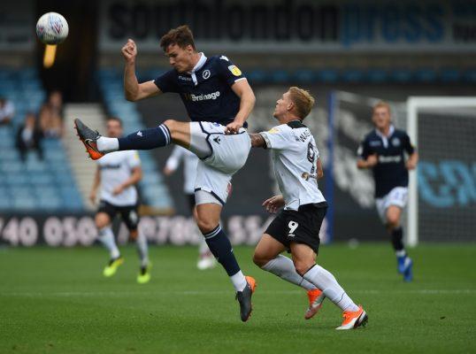 Teammates: Millwall defender Jake Cooper