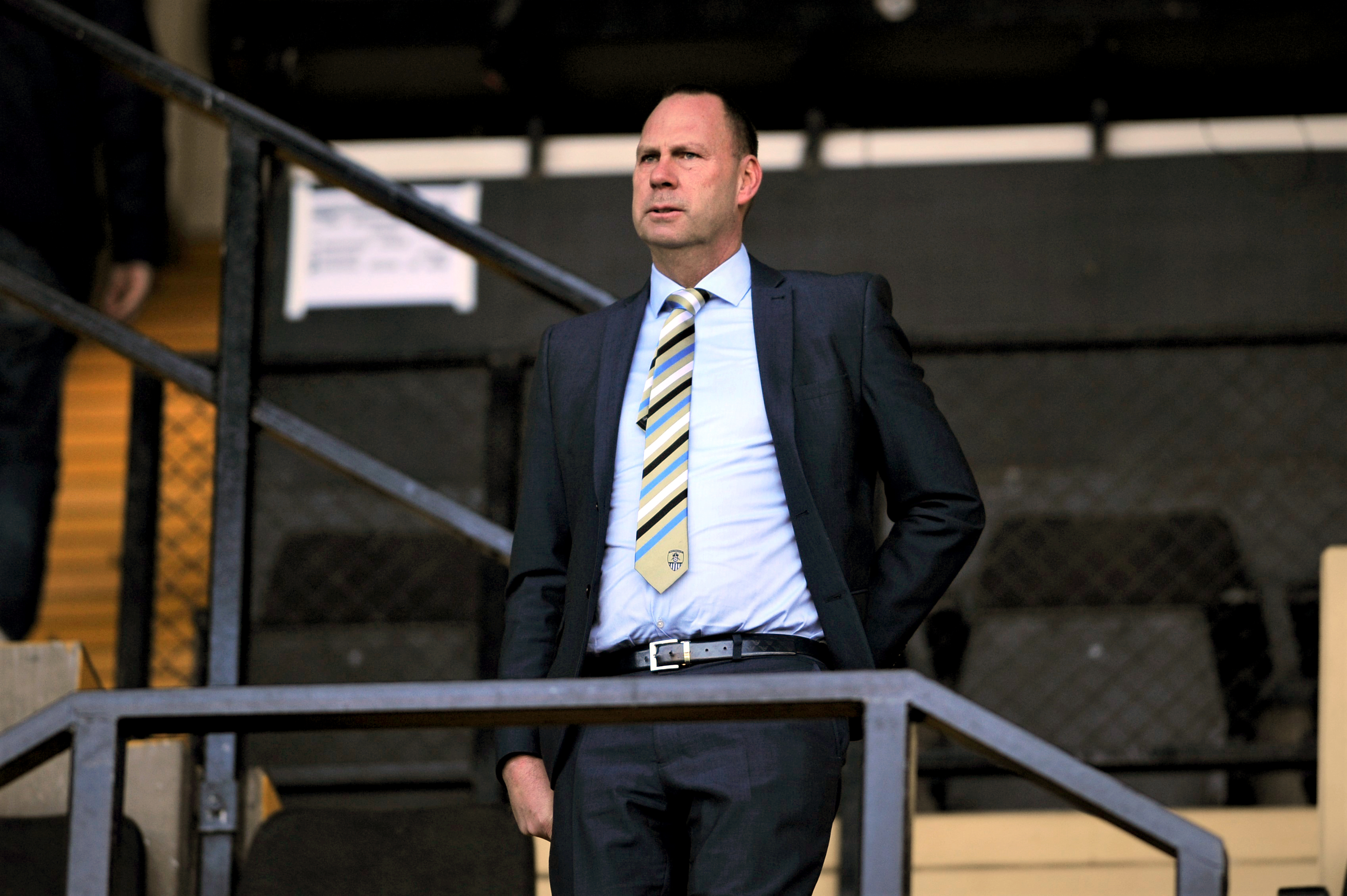 Notts County owner Alan Hardy