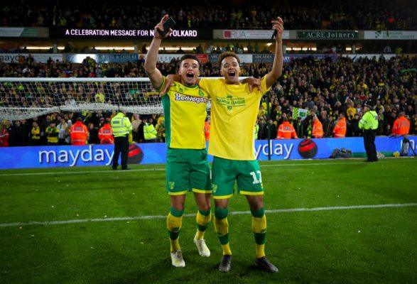 Championship leaders Norwich City promoted to the Premier League