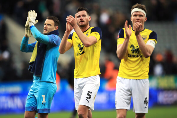 Oxford United shot-stopper Simon Eastwood bids for Toon hat-trick