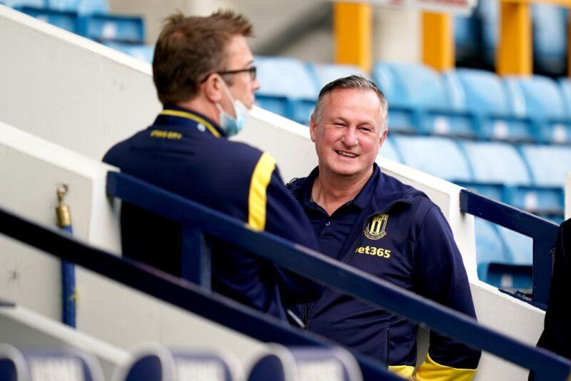 Stoke City manager Michael O'Neill