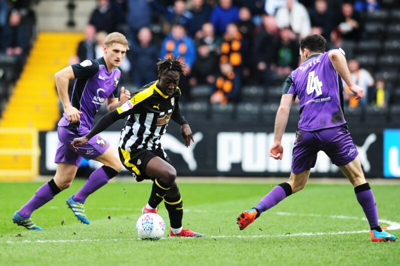 Grimsby Town have signed Virgil Gomis on loan