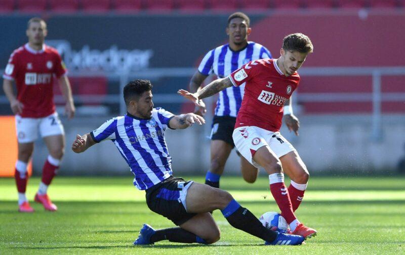 Sheffield Wednesday midfielder Massimo Luongo