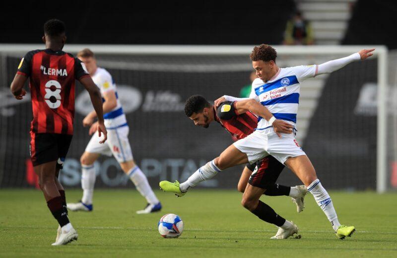 QPR midfielder Luke Amos will miss the rest of the season