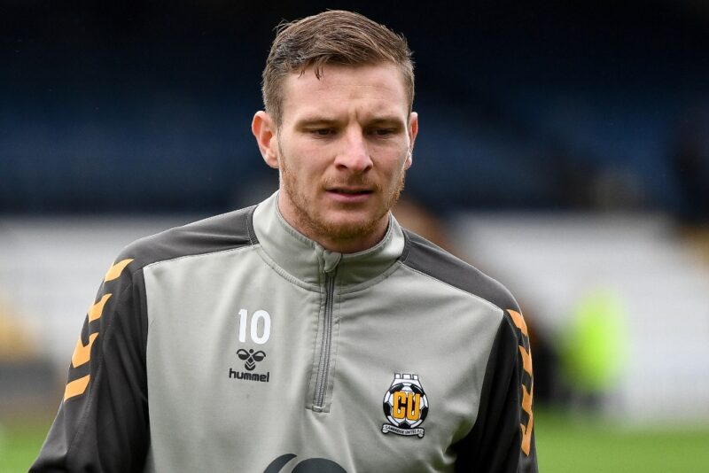 Cambridge United striker Paul Mullin