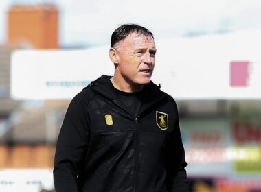 Mansfield Town manager Graham Coughlan
