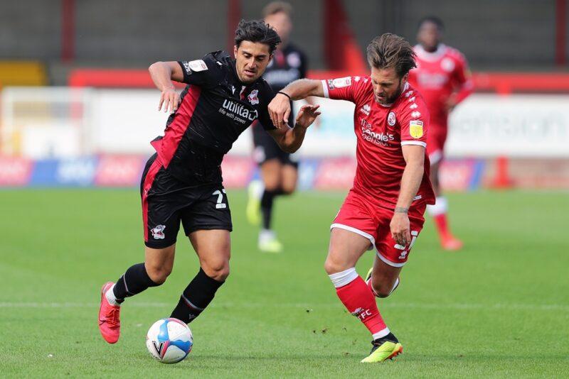 Crawley Town midfielder Dannie Bulman