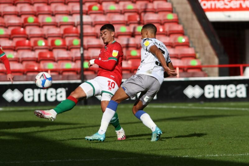 Walsall striker Josh Gordon