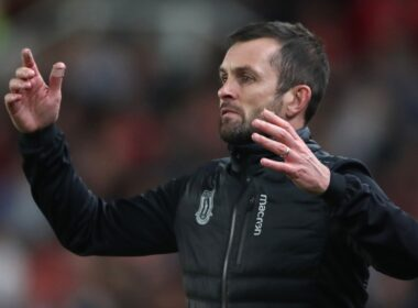 Nathan Jones in his time at Stoke City