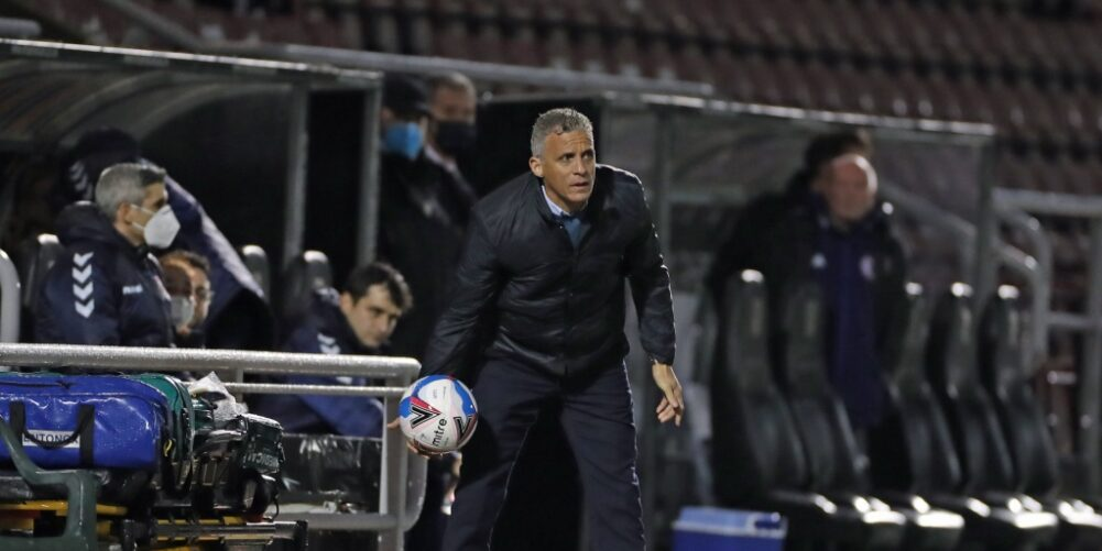 Northampton Town boss Keith Curle