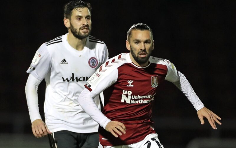 Northampton Town winger Ricky Holmes