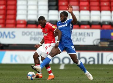 Gillingham striker John Akinde