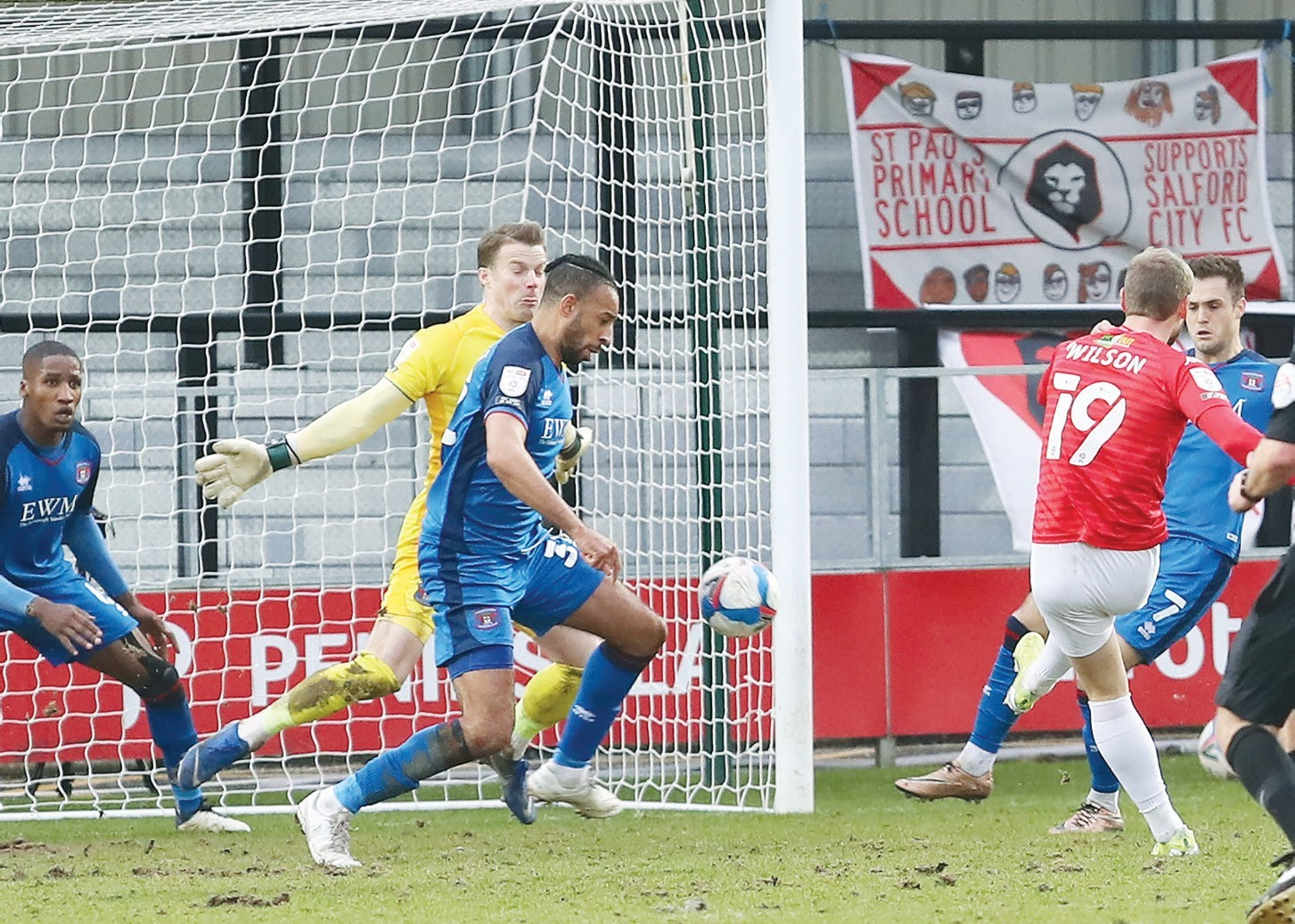 AMMIES SAVE THEIR RECORD BUT WELLENS STILL FUMING